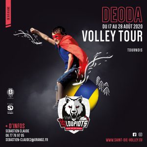 Affiche Deoda Volley Tour