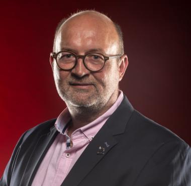 Pierre Mercier, président du club de Saint-Dié et vice-président de la Fédération française de volleyball