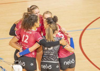 L'équipe de volley Saint-Dié, les Louves